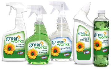 House cleaning in Maine with Green Works line of products